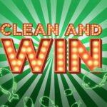 Clean and Win Kampagne Konzept Gewinnspiel.